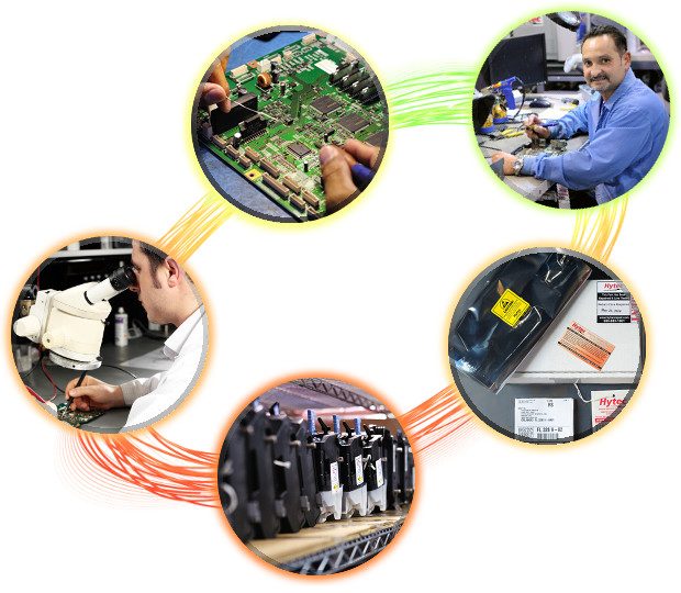 Hytec Circuit Board Repair and Hard Drive Destruction Services